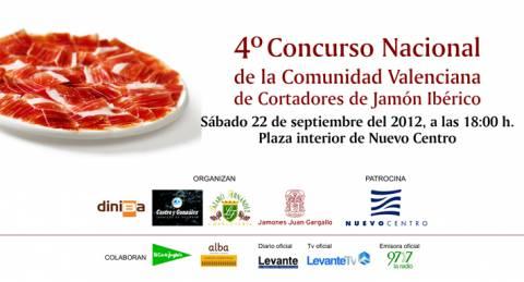 4° Concurso Nacional de la Comunidad Valenciana de Cortadores de Jamón Ibérico