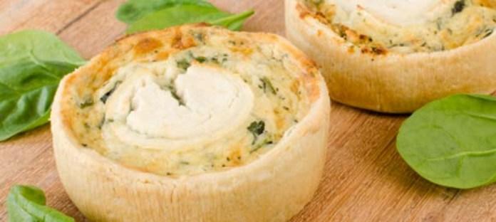 Receta-para-preparar-tartaletas-de-queso-de-cabra-fresco-y-menta-El-Portal-del-Chacinado