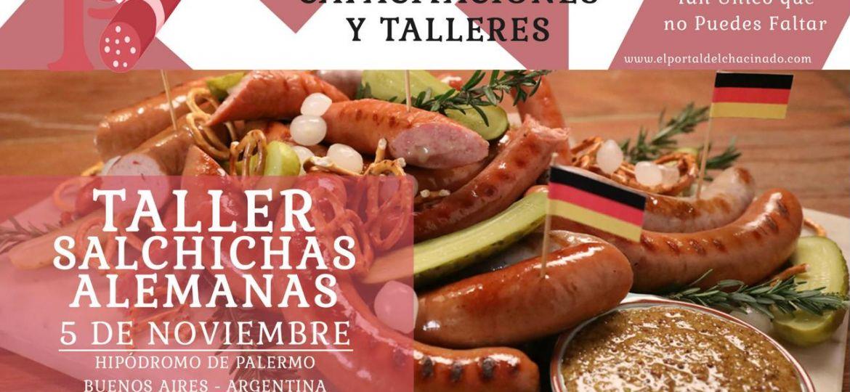 Curso-Taller-para-elaboracion-de-salchichas-alemanas-argentina-El-Portal-del-Chacinado