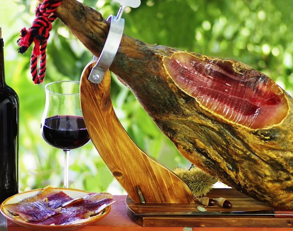 La Dieta del Jamón Ibérico y el Vino