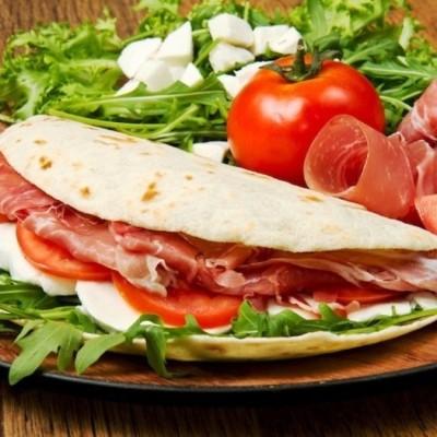 Piadina Romagnola - Una de las recetas más típicas de Italia